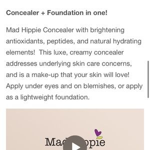 Sephora Makeup - Mad Hippie Concealer